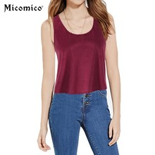 Buy Summer Women's Tank Camis Tops Sleeveless Fashion Solid Casual Loose Vest Tops Woman Blouse Female Vest Ladies Clothing for $6.36 in AliExpress store