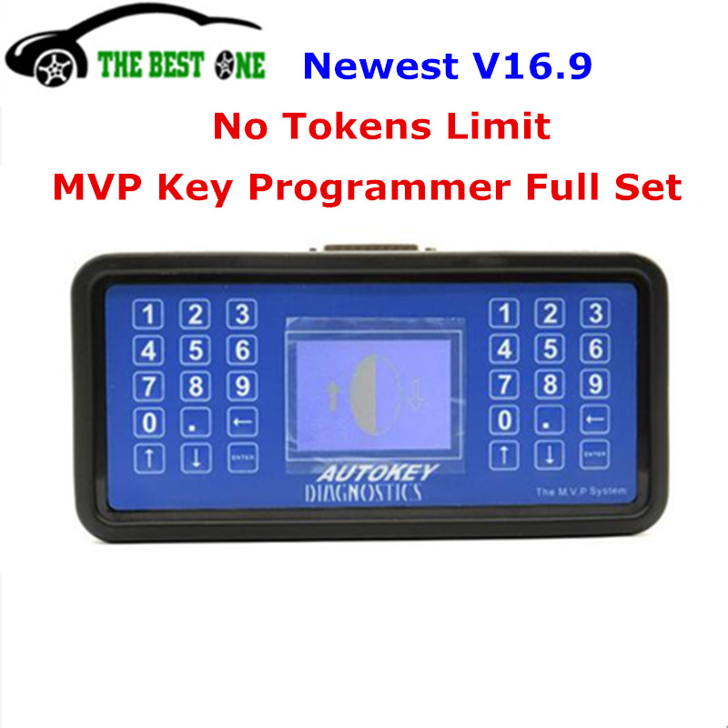 No Tokens Full Functions MVP Pro Key Programmer MVP V16.9 Update Of AD100 Code Reader Key Decoder English Spanish DHL Fast Ship(China)
