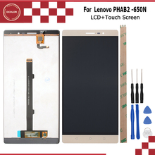 Buy Android 6.0 Lenovo PHAB 2 PB2-650N LCD Display Touch Screen 6.5inch Screen Digitizer Assembly High Quality+Tools for $47.29 in AliExpress store