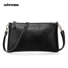 Fashion Buckle Women Genuine Leather Bags Shoulder+Messenger+Day Clutches+Wristlet Evening Multifunction Handag CX161