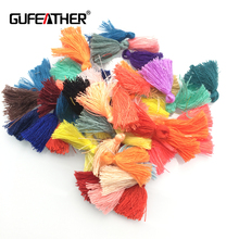 GUFEATHER jewelry findings/27-30MM cotton tassel for Hand made jewelry/jewelry making/tassels for jewelry diy/50pcs/lot