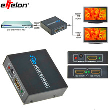 Effelon HDMI 1x2 3D splitter v1.3 HDCP 2 ports switcher For PS3 PS4 XBOX360 DVD