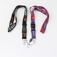 10pcs Apexi Racing Key Chain Key Rings Mobile ID Card Hanging Strap Fabric Seat Fabric Canvas Lanyard For APEXI Style