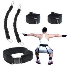 Resistance Band Fitness Bounce Trainer Pull Rope Basketball Football Tennis Running Jump Leg Strength Agility Training Strap(China)