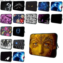 Viviration Neoprene Cover Case Funda Portatil Bolsa 7 10 12 13 14 15 17 Laptop Sleeve Bag Many Style Women Case Men PC Protector(China)