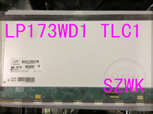 Free shipping and New laptop LCD screen for LP173WD1 (TL)(C1)  17.3 LED WXGA