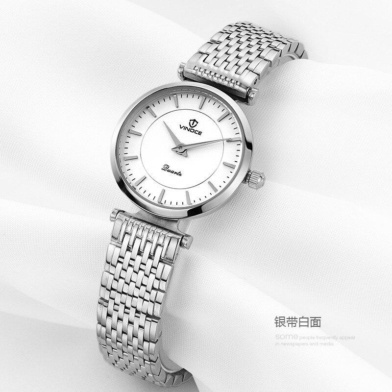 VINOCE brand luxury Fashion Casual quartz watches Steel sport Lady relojes mujer women waterproof wristwatches Girl Dress<br><br>Aliexpress