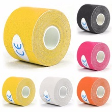 5mx5cm Elastic Sport Athletic Kinesiology Bandage Tapes Tex Medical Muscles Care Protective Wrapping Gym Protector Drop Shipping(China)