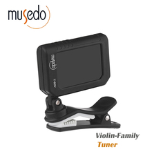 Musedo T-60V Clip-on Electric Tuner for Violin Cello Viola Chromatic Universal Practical Portable(China)