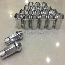 Light Weight Aluminium Wheel Rims Lug Nuts M12x1.25 Racing Nuts For Nissan Altima Coupe Coupe 2-Door 2008-2009(China)