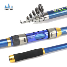High Performance Sea Fishing Pole High Quality Carbon Fiber Telescopic Fishing Rod 2.1/2.4/2.7/3.0/3.6m  fishing Tackle pesca