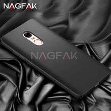 NAGFAK Luxury Protector case For Xiaomi redmi note 4 4X Hard quality Matte Full Cover for Xiaomi redmi note 4 4X phone cases(China)