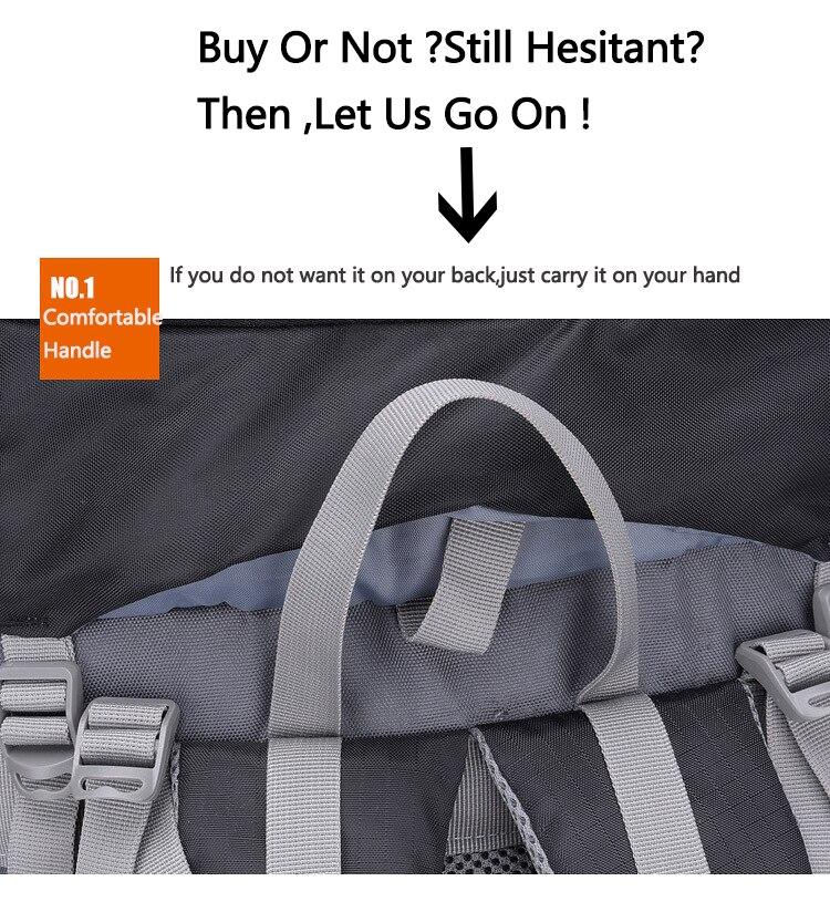 Waterproof Backpack Backpacks 60l 17