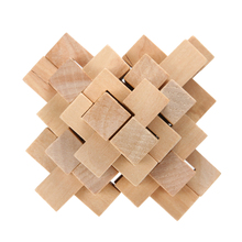 24Pcs Kongming Luban Lock Kids Adult Wooden Chinese Traditional Puzzle Game Brain Teaser Intellectual Toy for Children FCI#