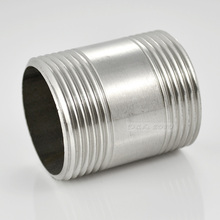 "MEGAIRON 1/2"" Male x Male Threaded Pipe Fittings Stainless Steel SS304(China)"