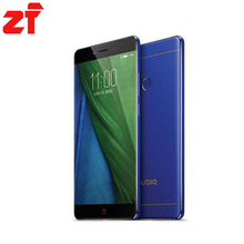 ZTE Nubia Z11 NX531J Borderless 4GB RAM 64GB ROM Mobile Phone Snapdragon 820 Quad core 16.0MP Fingerprint(China)