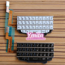 Original New Keypad Repair Parts For BB Blackberry Q10 Keypad RUS Russian Thai Arabic Keyboard With Flex Cable