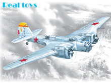 ICM model 72162 1/72 SB 2M-100A WWII Soviet Bomber plastic model kit