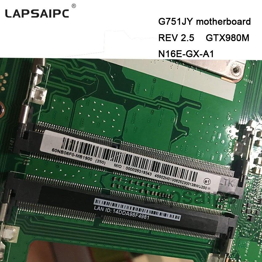 G751JY DELL board