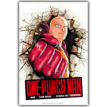 ONE PUNCH MAN Art Silk Poster Print 12x18 24x36 inches Japanese Anime Pictures for Living Room Decor Wallpaper SAITIMA DM423(China)