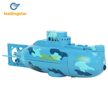 Leadingstar RC Water Boat 6CH Speedboat Model High Powered 3.7V Toy Boat Plastic Model Large RC Submarine Outdoor Toys(China)