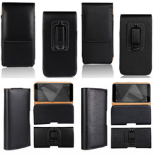 Belt Leather Bag Case For Xiaomi Redmi 4 4A Note 4 4X 3 Pro 2 3 3s Clip Pouch Men Waist Holster Shell Cover Capinha Etui Coque