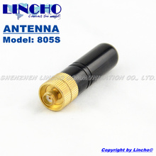 small RH805S uhf vhf dual band diamond antenna, two way radio antenna SMA female antenna diamond(China)