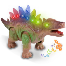Plastic model toy light sound sound simulation electric dinosaur model toy