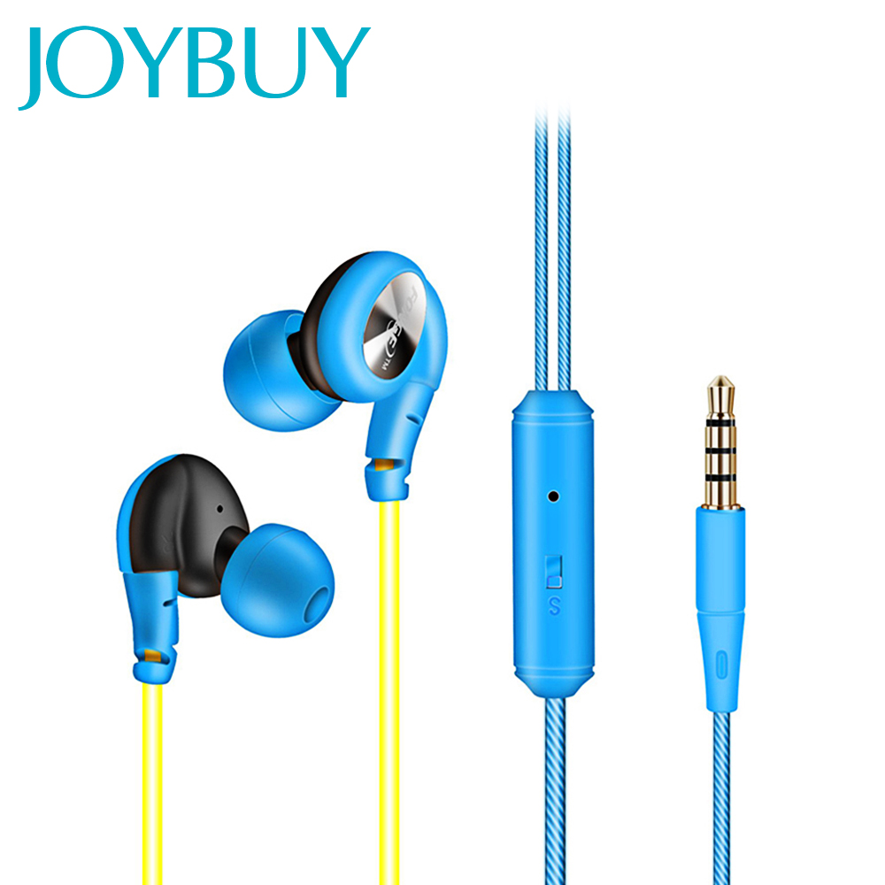 JOYBUY Sport Earphone Waterproof 3.5mm HiFi Earphones Running Sweatproof Headset Super Clear Earbuds Fone De Ouvido With Mic<br><br>Aliexpress