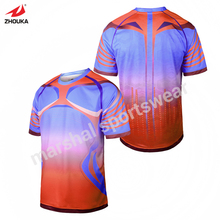 cheapest personalized OEM soccer jerseys football jerseys made in thailand men's football jerseys(China)