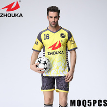 make own soccer jersey create my own football jersey custom youth soccer jerseys(China)