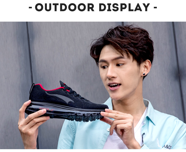 ONEMIX Men Running Shoes Fashion Casual Outdoor Jogging Air Cushioning Gym Fitness Sneakers Max 12 8