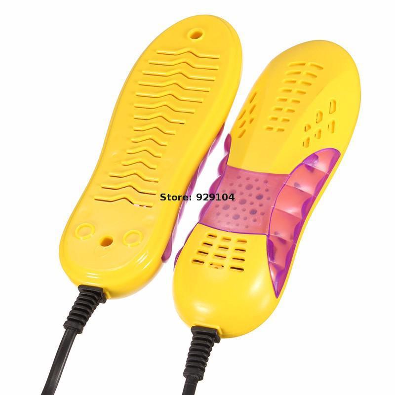 220v 10w Eu Plug Race Car Shape Voilet Light Shoe Dryer Foot Protector Boot Odor Deodorant Device Shoes Drier Heater<br><br>Aliexpress