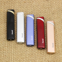 FREE SHIPPING Creative fire inflatable portable small torch lighter  Novelty Gas Metal Cigarette Lighter Gift for Man