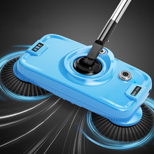 Push Hands Sweep The Floor Mop One Machine Household Wireless Electric Robot Vacuum Cleaner A Key Clean(China)