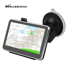 MALUOKASA 4.3inch Car GPS Positioning Navigator HD Touch Screen Bluetooth Driving Guide Navigation System Multiple Voice Prompt(China)