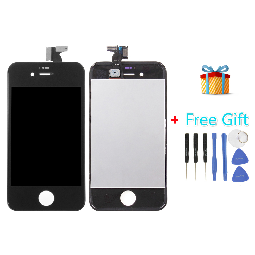 iPartsBuy 3 in 1 for iPhone 4S (LCD + Frame + Touch Pad +Free Gift ) Digitizer Assembly<br><br>Aliexpress