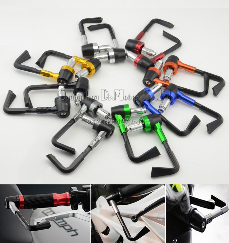 universal 7/8 22mm motocross dirt bike motorcycle Handle Bar guard System hand grips guard brake clutch levers guard protector<br><br>Aliexpress
