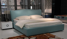modern fabric sleeping soft bed King size bedroom furniture Made in China