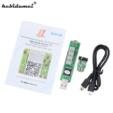 kebidumei For PCMCIA Notebook Battery Test Adapter 4 LED SM BUS Computer Mainboard POST Diagnostic Card For IBM T500 X200 W500(China)