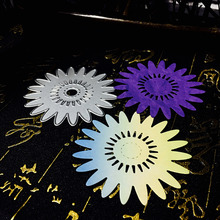 69x69mm Scrapbook Craft Dies Greeting Cards Scrapbooking Die 3D Stamp DIY Scrapbooking Card Making Photo Decoration Sunflower