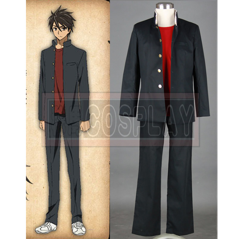 New Arrival Highschool of The Dead Cosplay Takashi Komuro Cosplay Costume