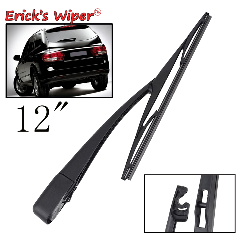 """SSANGYONG ACTYON SPORTS I 2007-ON Set of 2 front windscreen wiper blades 22/""""19/""""H"""