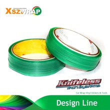 50m/164' Roll Finish Line Design Line Knifeless Tape Cutting Tape Wrap Film Car Wrapping
