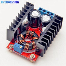 High Efficiency! 150W Boost Converter DC to DC 10-32V to 12-35V Step Up Voltage Charger Power Module For Arduino Free Shipping