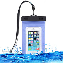 Universal Waterproof Bags Underwater Phone Case For iPhone 6 6s Plus 5S 7 7Plus/ for Samsung Galaxy s4 s5 Clear Case Pouch Bag