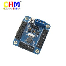 HK POST FREE !!! Wholesale USC-24 Mini 24 Channel Servo USB Controller board For Robot Project High Quality 2pcs/lot #J315-1(China)