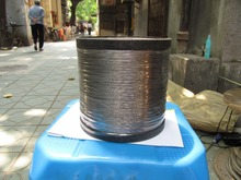 100m per lot Stainless steel 304 wire rope 7*7 0.6 mm diameter(no nylon/pvc coated)(China)