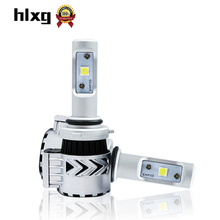 Buy 2Pcs 9006 HB4 LED Auto Lamp Car Headlight 36W/each bulb 6000LM 12000LM 6000K Automobile Headlamp One CSP XHP50 Chip 12V for $33.29 in AliExpress store