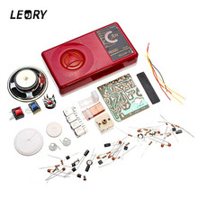 LEORY Hot Sale AM Radio Electronic DIY Kit Seven Tube Electronic Learning Kit Set(China)